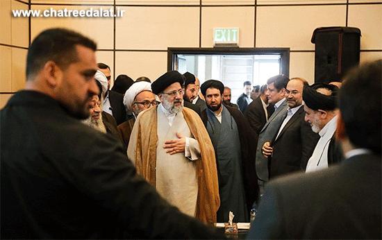 رئیس قوه قضائیه حجتالاسلام والمسلمین سید ابراهیم رئیسی